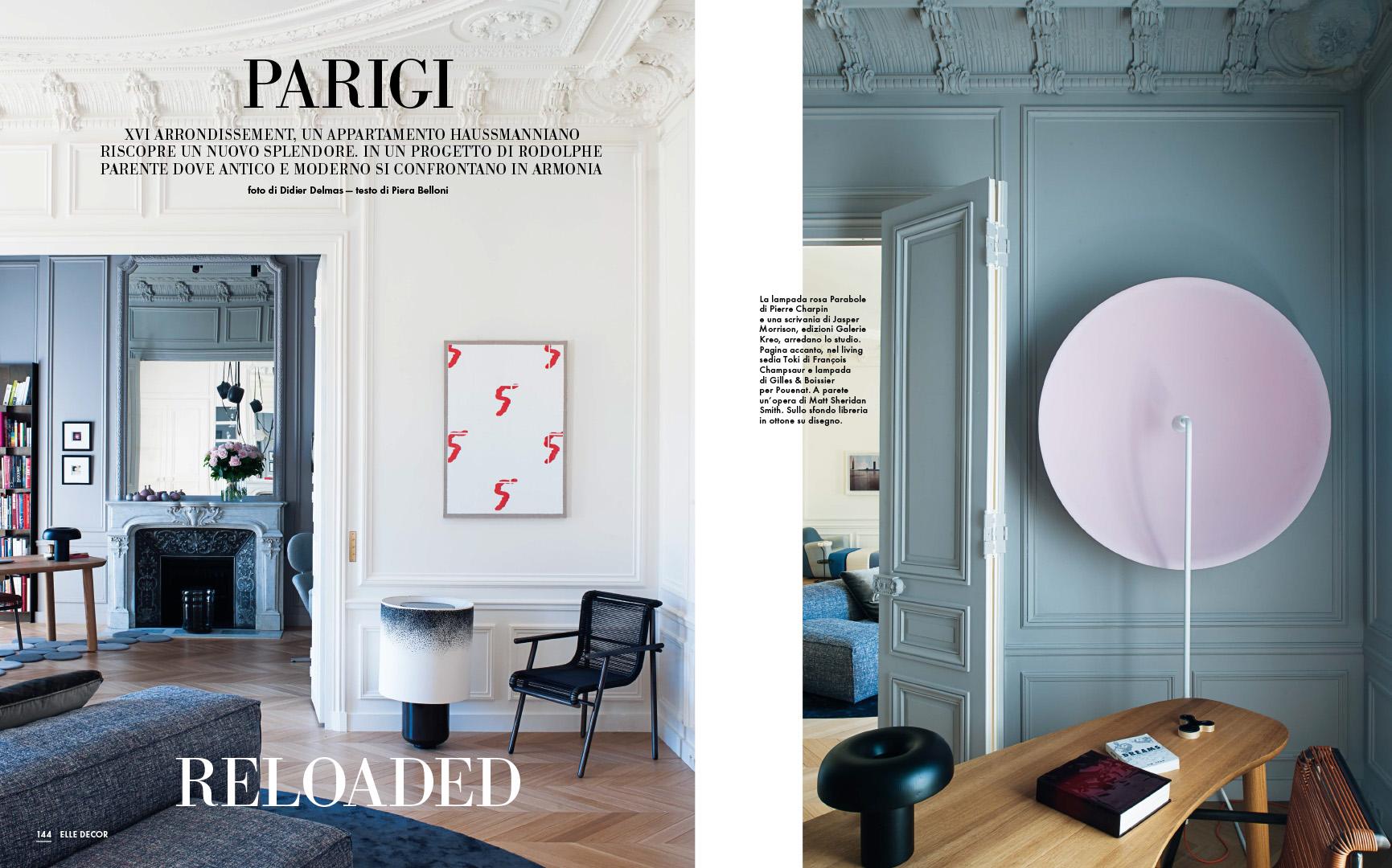 Parete Attrezzata Design Moderno Kreo.Press Archives Rodolphe Parente Architecture Design