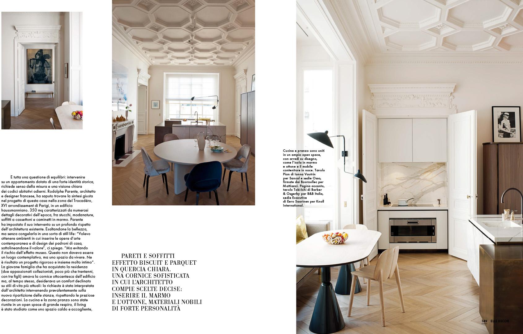 Elle Decor New Classic en - Rodolphe Parente Architecture ...